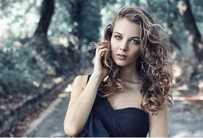 Woman Face Brunette Skin Eye Sunlight Brown