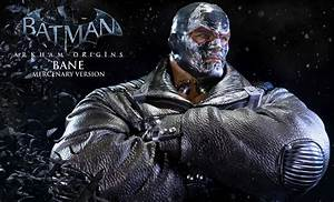 Bane Mercenary Version Statue Arkham Origins Prime 1