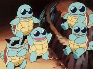 gif ~ pokemon Season 1 nintendo Squirtle Pokemon anime ...