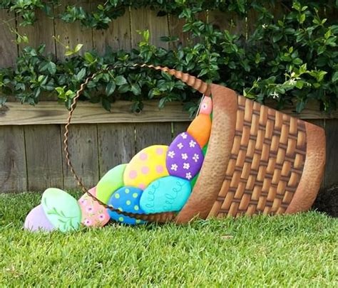 Easter Egg Garden Decoration by Outdoor Easter Decorations Ideas 4 Ur Family