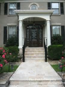 Beautiful Front Portico Plans by Front Porch Ideas And More Beneath My