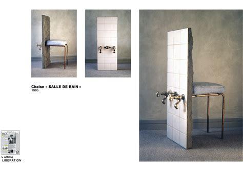 chaise de salle de bain eric fourmestraux chaise quot salle de bain quot