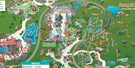 busch gardens williamsburg map busch gardens ta tickets maps park hours
