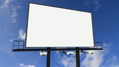 billboard   clouds royalty  video  stock