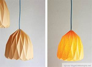 Abat Jour Origami : diy lampe origami facile faire tutoriel complet ~ Teatrodelosmanantiales.com Idées de Décoration