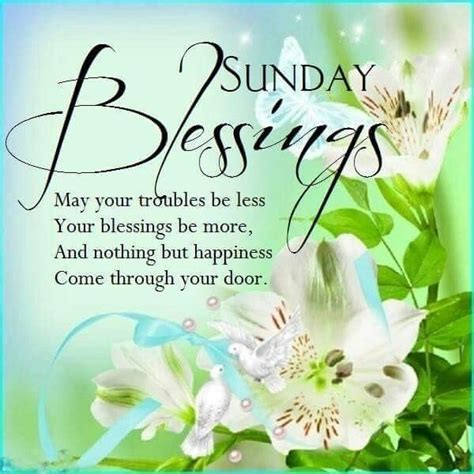 Sunday Blessings Images Sunday Blessings Flowers Pictures Photos And Images For