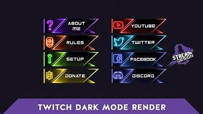 Panels Twitch Neonglow Le Fr Sleek
