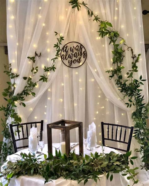 20 Inspirational Wedding Backdrop Ideas