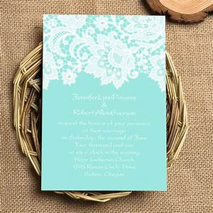 elegant tiffany blue lace wedding invitations ewi335 as With free printable tiffany blue wedding invitations