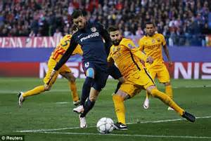 Atletico Madrid vs Barcelona UEFA Champions League RESULT ...