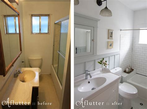 Bathroom Remodel Ideas Before And After by Before And After 1970s Bathroom Into Inspired Craftsman