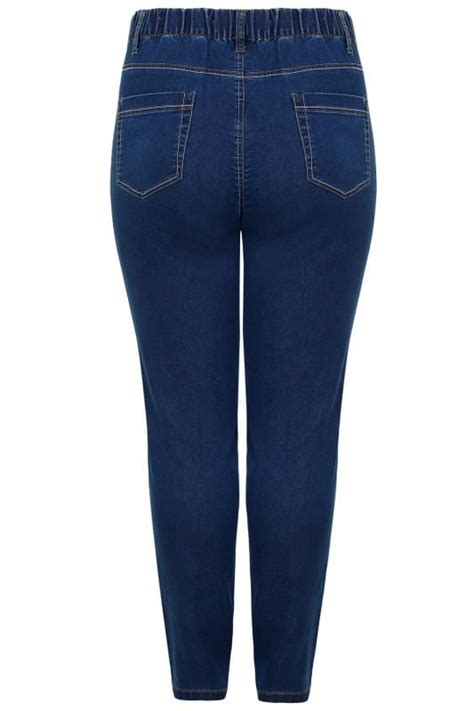 date post jenny template responsive blue washed ultimate comfort stretch jeggings plus size