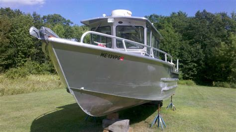 Used Pacific Aluminum Boats For Sale by 2007 29ft Pacific Skiff Barely Used Bloodydecks