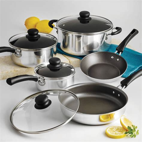 pots cuisine nonstick 9 pots and pans cookware set cooking set ebay