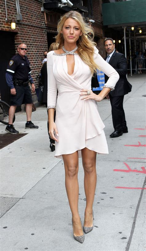 Blake lively   Only in High Heels