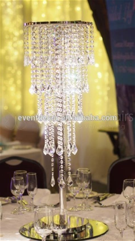 wedding chandelier centerpieces table chandeliers