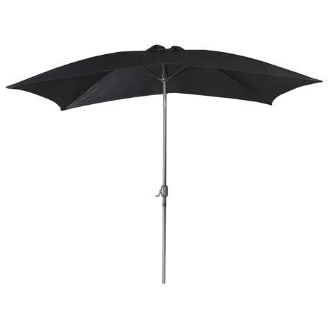 2m x 3m rectangular tilting canopy garden parasol sun