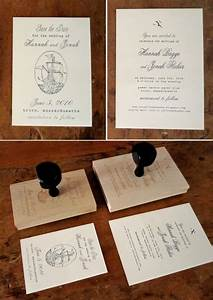 customized rubber stamps for wedding invitations With diy wedding invitations with stamps