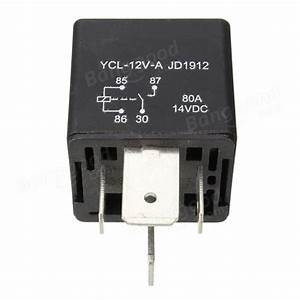 4 Pin Relay Relays Heavy 12v 80a 80 Amp Spst For Car Truck