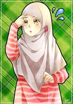 hijab animasi images   anime muslim islamic cartoon hijab cartoon