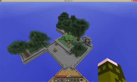 play sky block  minecraft  pictures wikihow