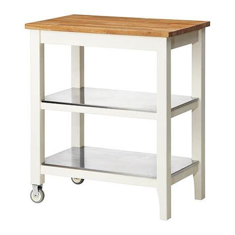 ikea stenstorp kitchen island ikea stenstorp kitchen cart in oak with stainless steel shelves islands kitchen furniture