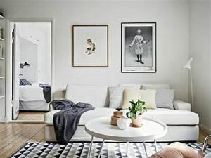 Tapis Noir Et Blanc Scandinave : choisir le meilleur tapis scandinave avec notre galerie ~ Teatrodelosmanantiales.com Idées de Décoration