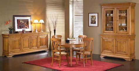 salle a manger menu salle 224 manger topaze meubles rustiques meubles bois massif