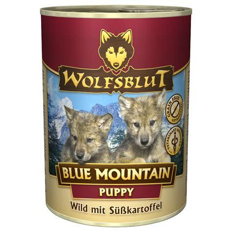 wolfsblut nassfutter blue mountain puppy hundefutter fuer