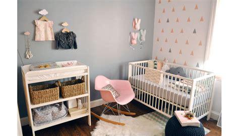 papier peint chambre b b fille inspiration déco chambre bébé
