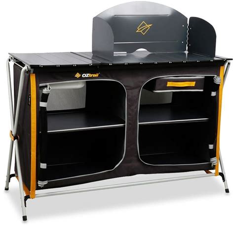 Oztrail Camp Kitchen Deluxe With Sink  Snowys Outdoors