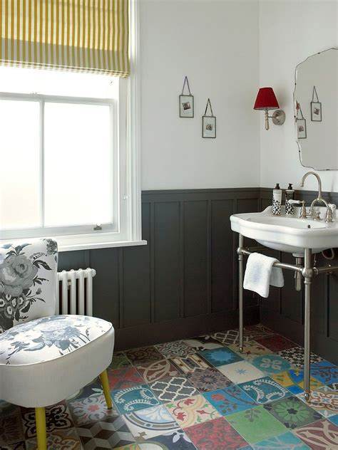 creative patchwork tile ideas full  color  pattern