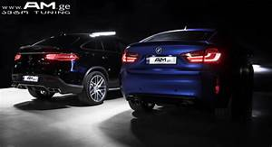 Am Auto : bmw x6m blue matte car wrapping auto am ge ~ Gottalentnigeria.com Avis de Voitures