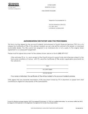 toyota lease transfer paperwork fill  printable