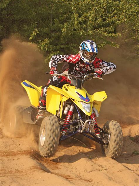 suzuki ltz  sport atv review atv illustrated