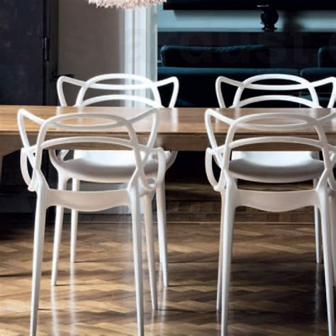kartell chaises masters chaise kartell voltex