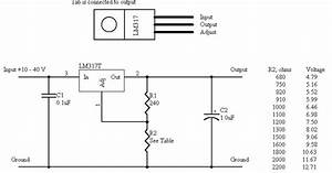 how to make a variable power supply using lm317 With diy power supply
