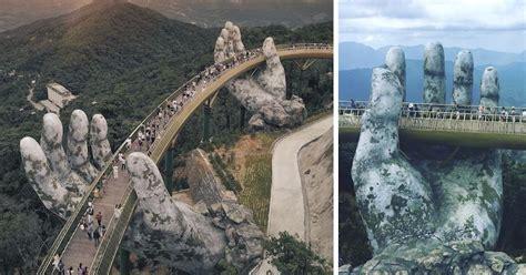 spectacular bridge  vietnam
