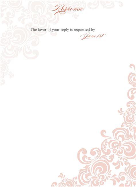 blank wedding invitations templates