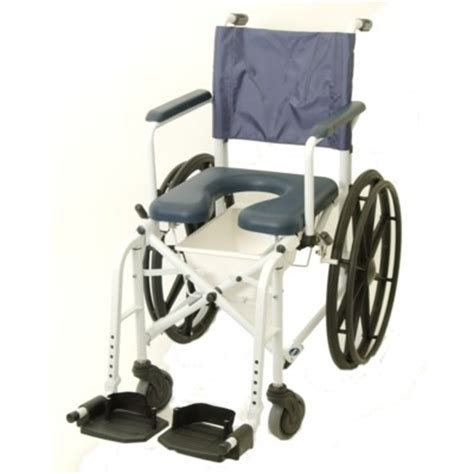 mariner rehab shower commode chair 23 quot wheels by invacare
