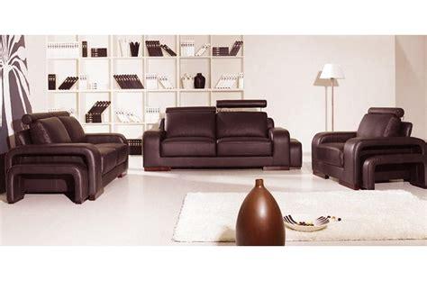 ensemble 3 pi 232 ces canap 233 3 places 2 places fauteuil en cuir luxe italien vachette palermo