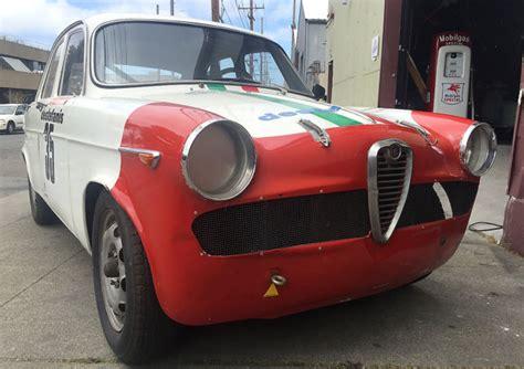 vintage alfa romeo race cars 1962 alfa romeo giulietta ti corsa race car pure