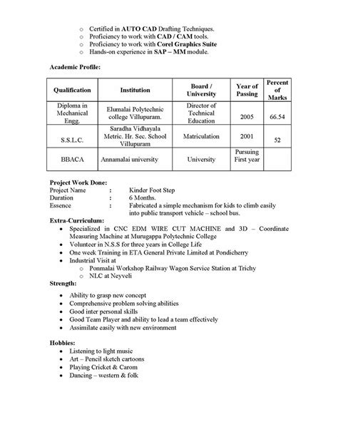 sap mm materials management sle resume 3 06 years