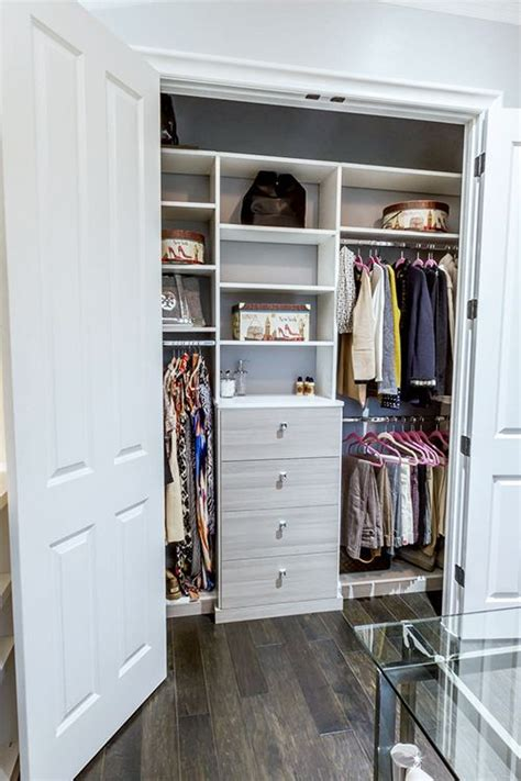 17 best ideas about small closet design on
