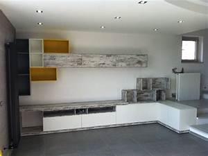 Ikea Meuble Salon : meuble de salon sur mesure ~ Teatrodelosmanantiales.com Idées de Décoration
