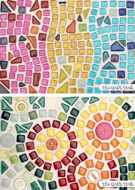 mosaic art  beginners middle school art mosaic tile