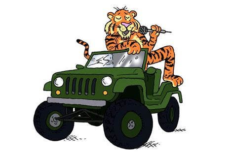 cartoon jeep front feedback what links jeeps emcees and the tiger in your
