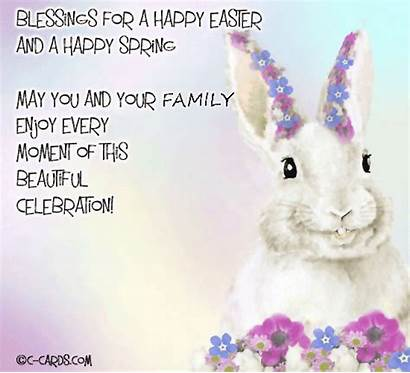 Easter Blessings 123greetings Wishes Bunny Spring Happy