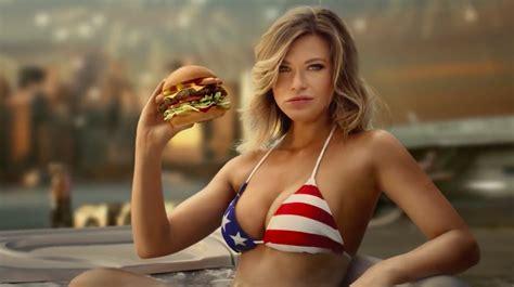 carls jr    absurdly american ad   hot