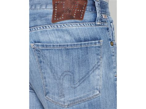 Ash Bootcut Jeans In Vanity Wash In Blue For Men